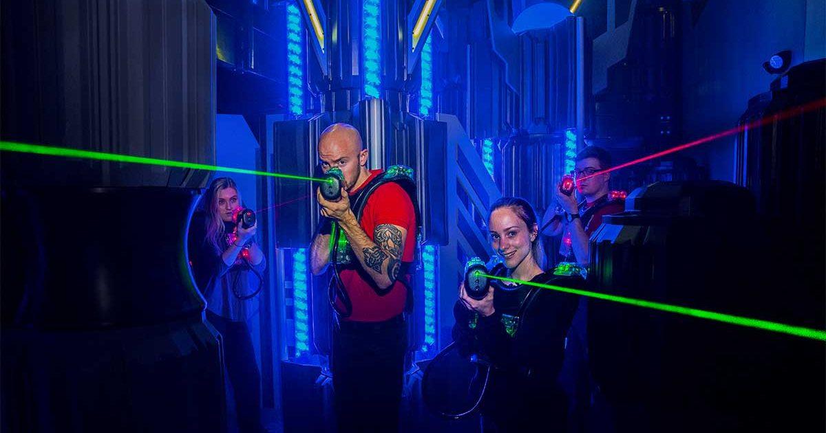 Laser Tag | Laser Flash - Indy's Premier Laser Tag & Party Facility